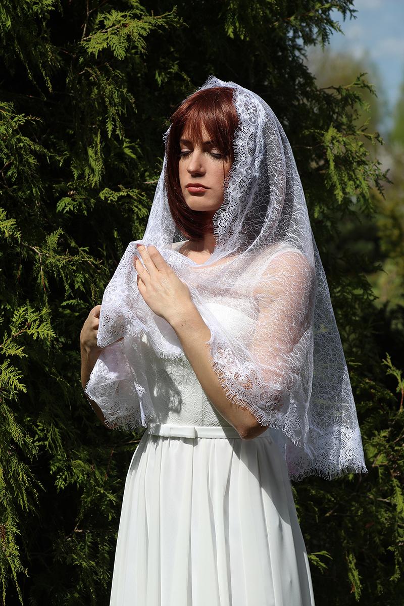 крой фото платков на венчание двух этажей
